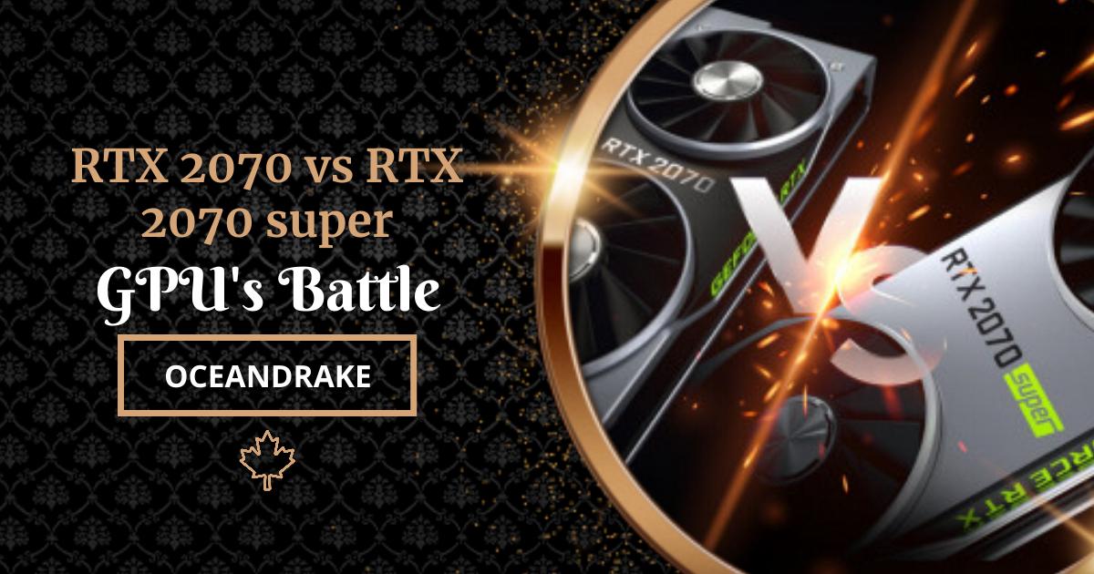 rtx 2070 vs rtx 2070 super