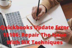 quickbooks update error 15106